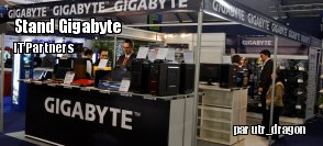 IT partners : le stand Gigabyte