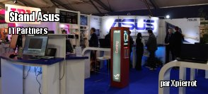 IT partners : le stand d'ASUS