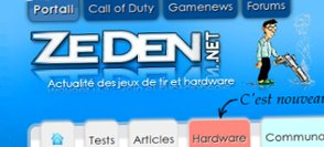 ZeDen : Nouvelle version !