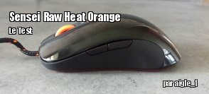 ZeDen teste la souris Sensei Raw Heat Orange