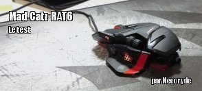 ZeDen teste la souris RAT 6 de Mad Catz