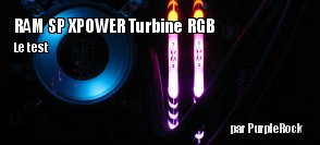 ZeDen teste la RAM Silicon Power Turbine RGB 3200 Mhz