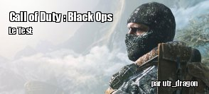ZeDen teste Call of Duty : Black Ops