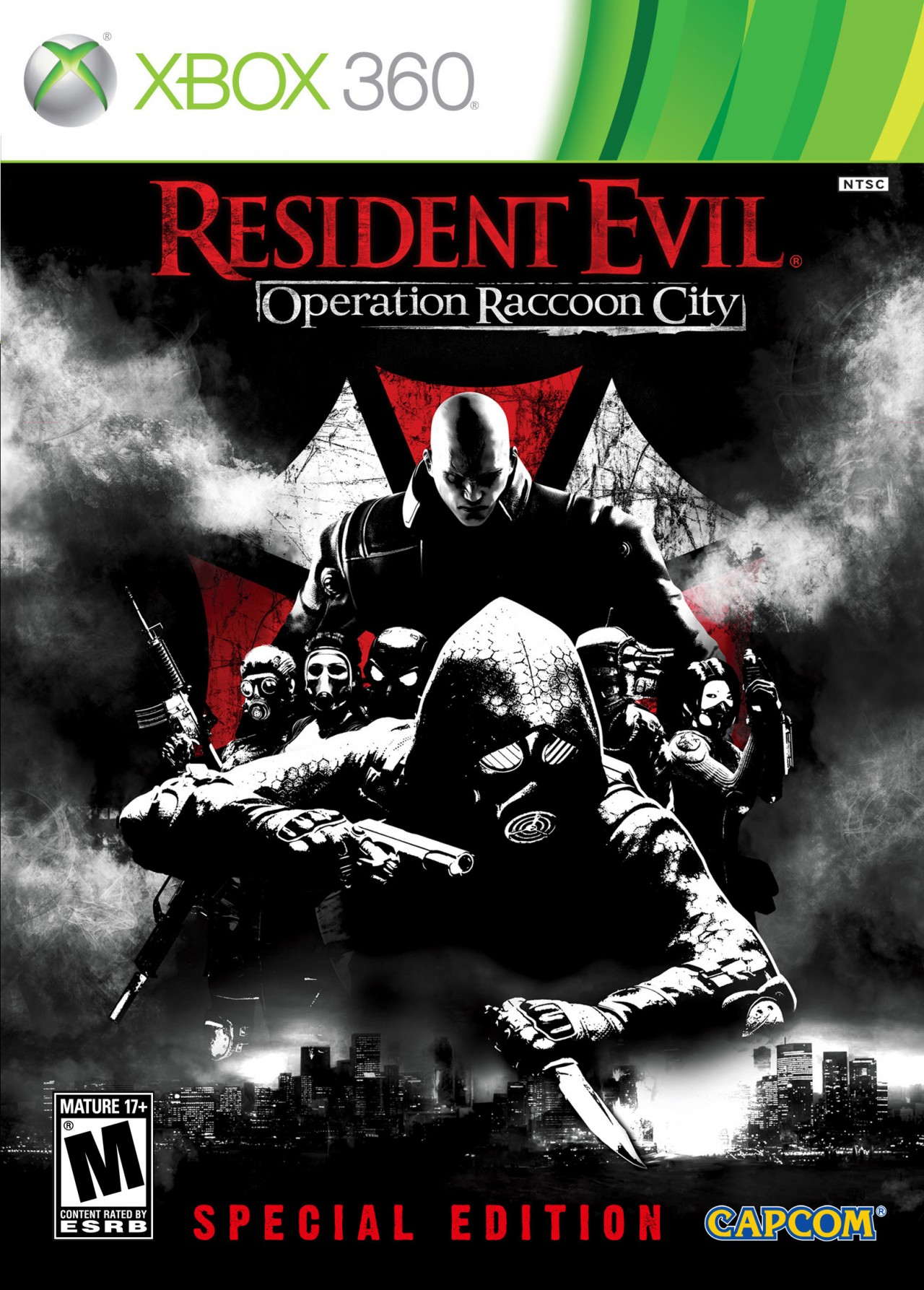 Boîte de Resident Evil : Operation Raccoon City