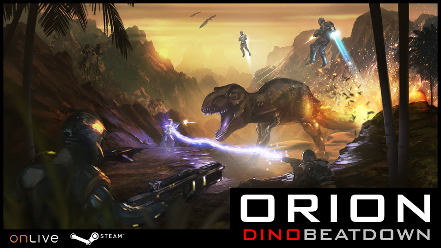 Boîte de Orion : Dino Beatdown