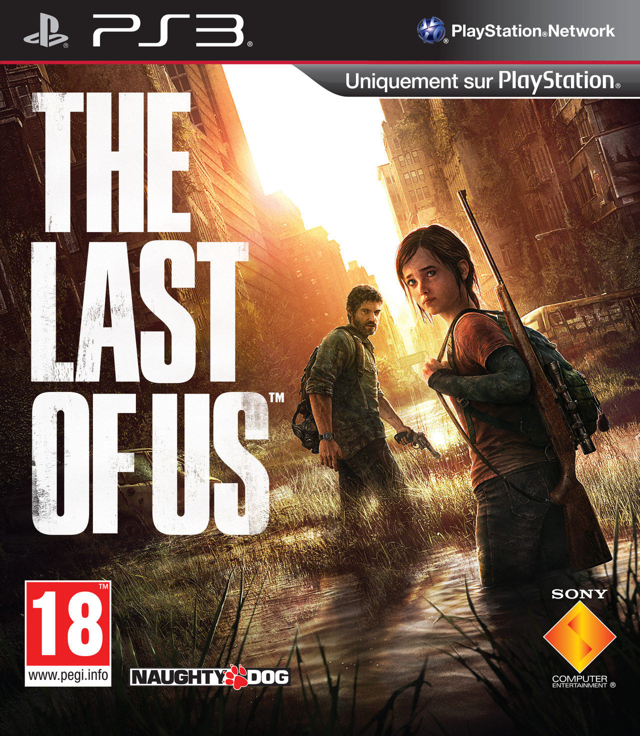 Boîte de The Last of Us