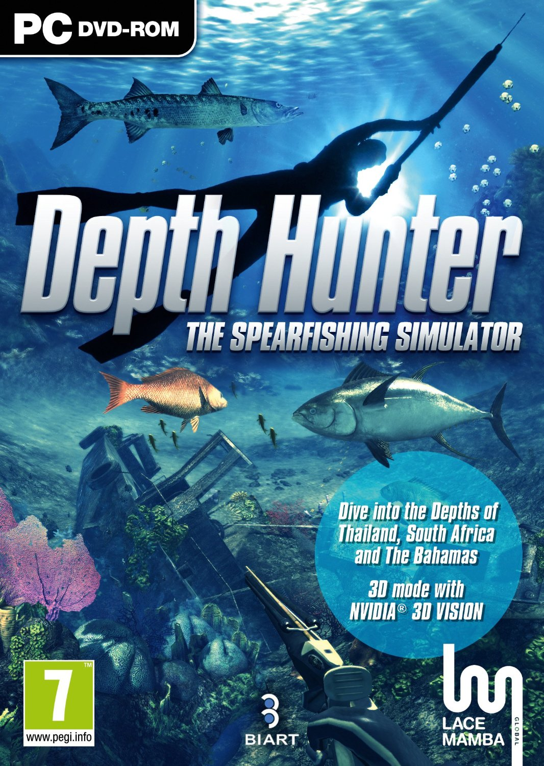 Boîte de Depth Hunter : The Spearfishing Simulator