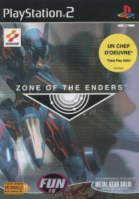 Boîte de Zone Of The Enders