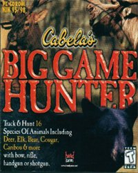 Boîte de Cabela's Big Game Hunter