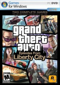Boîte de Grand Theft Auto : Episodes From Liberty City