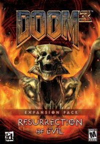 Boîte de Doom 3 : Resurrection of Evil