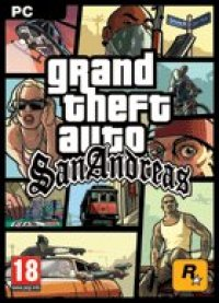 Boîte de Grand Theft Auto : San Andreas