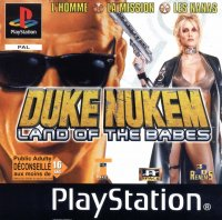 Boîte de Duke Nukem : Land of the Babes