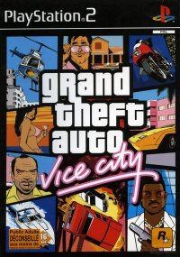 Boîte de Grand Theft Auto : Vice City