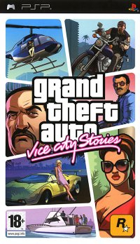 Boîte de Grand Theft Auto : Vice City Stories