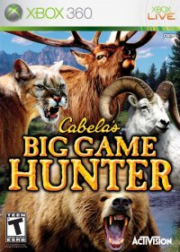 Boîte de Cabela's Big Game Hunter (2007)