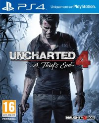 Boîte de Uncharted 4 : A Thief's End
