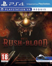 Boîte de Until Dawn : Rush of Blood