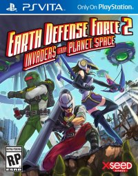 Boîte de Earth Defense Force 2 : Invaders from Planet Space