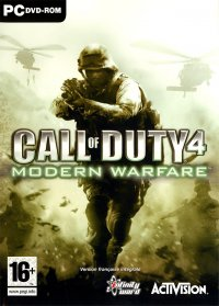 Boîte de Call of Duty 4 : Modern Warfare