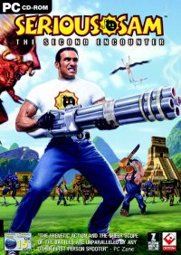 Boîte de Serious Sam : The Second Encounter