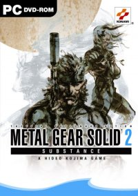 Boîte de Metal Gear Solid 2 : Substance