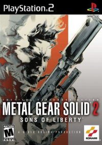 Boîte de Metal Gear Solid 2 : Sons of Liberty