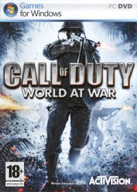 Boîte de Call of Duty 5 : World at War