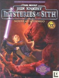 Boîte de Jedi Knight : Mysteries of the Sith