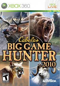 Boîte de Cabela's Big Game Hunter 2010