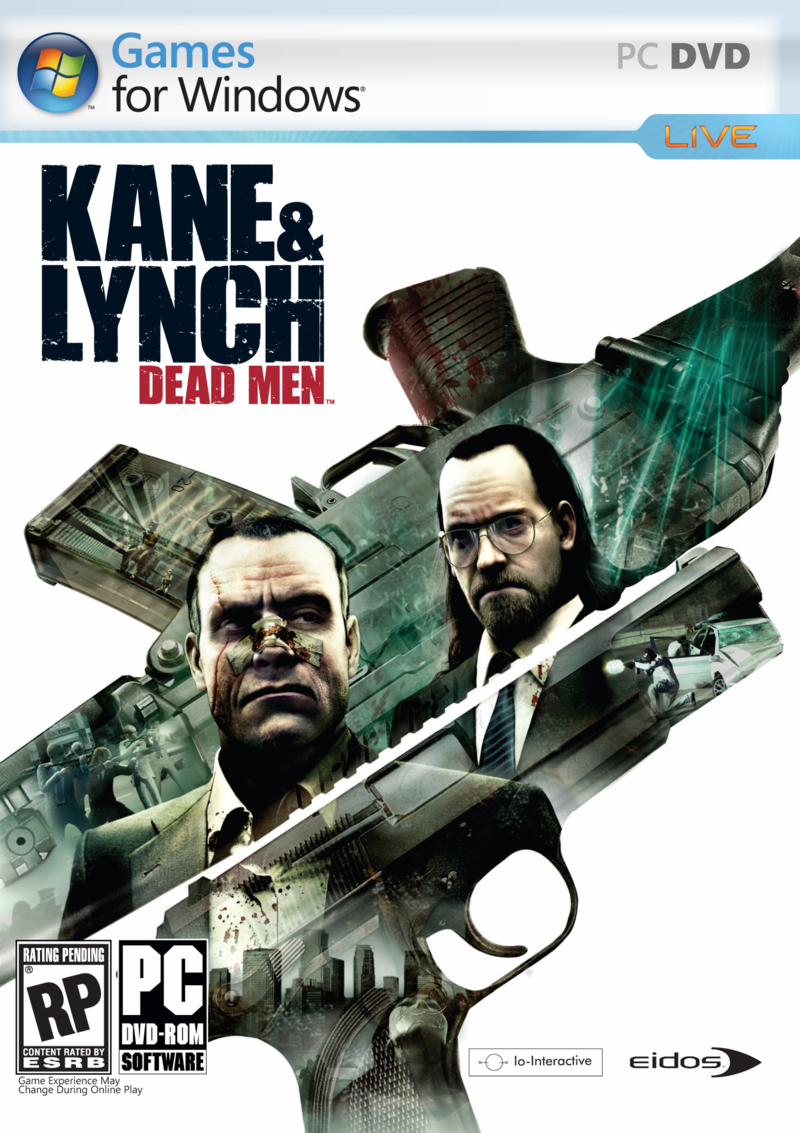 Boîte de Kane & Lynch : Dead Men