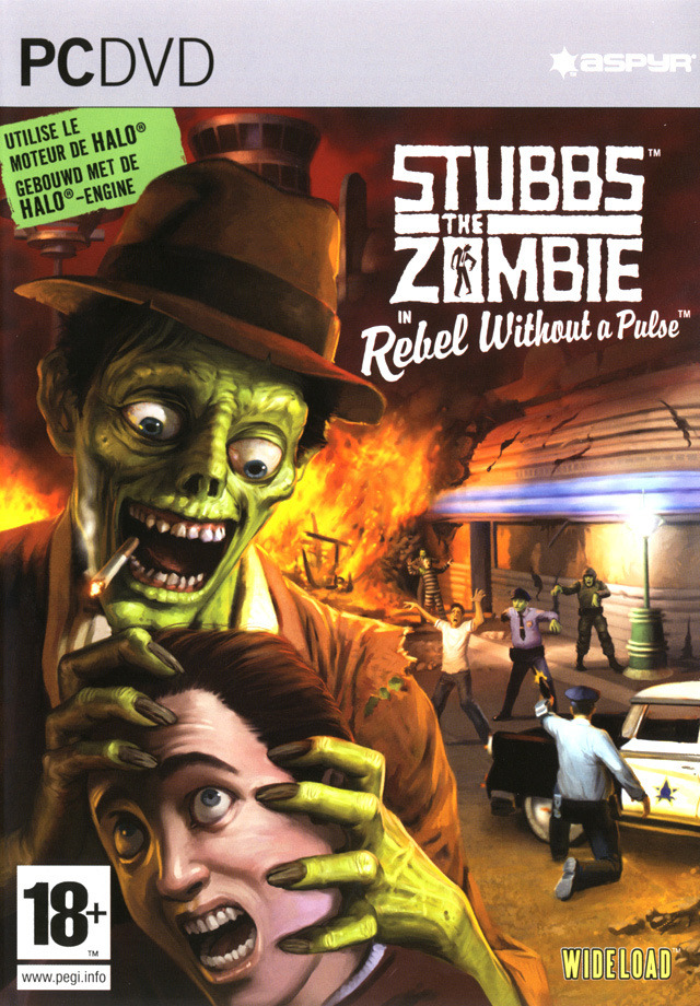Boîte de Stubbs the Zombie in Rebel Without a Pulse