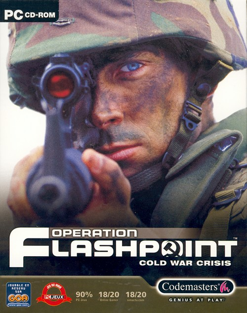 Boîte de Operation Flashpoint : Cold War Crisis
