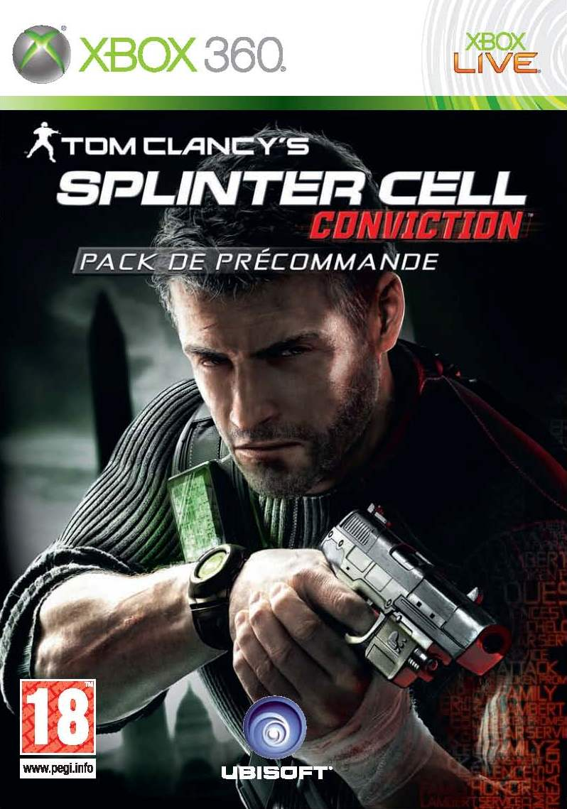 Boîte de Splinter Cell : Conviction