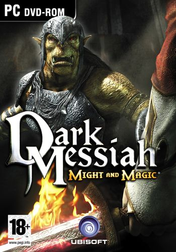 Boîte de Dark Messiah of Might and Magic