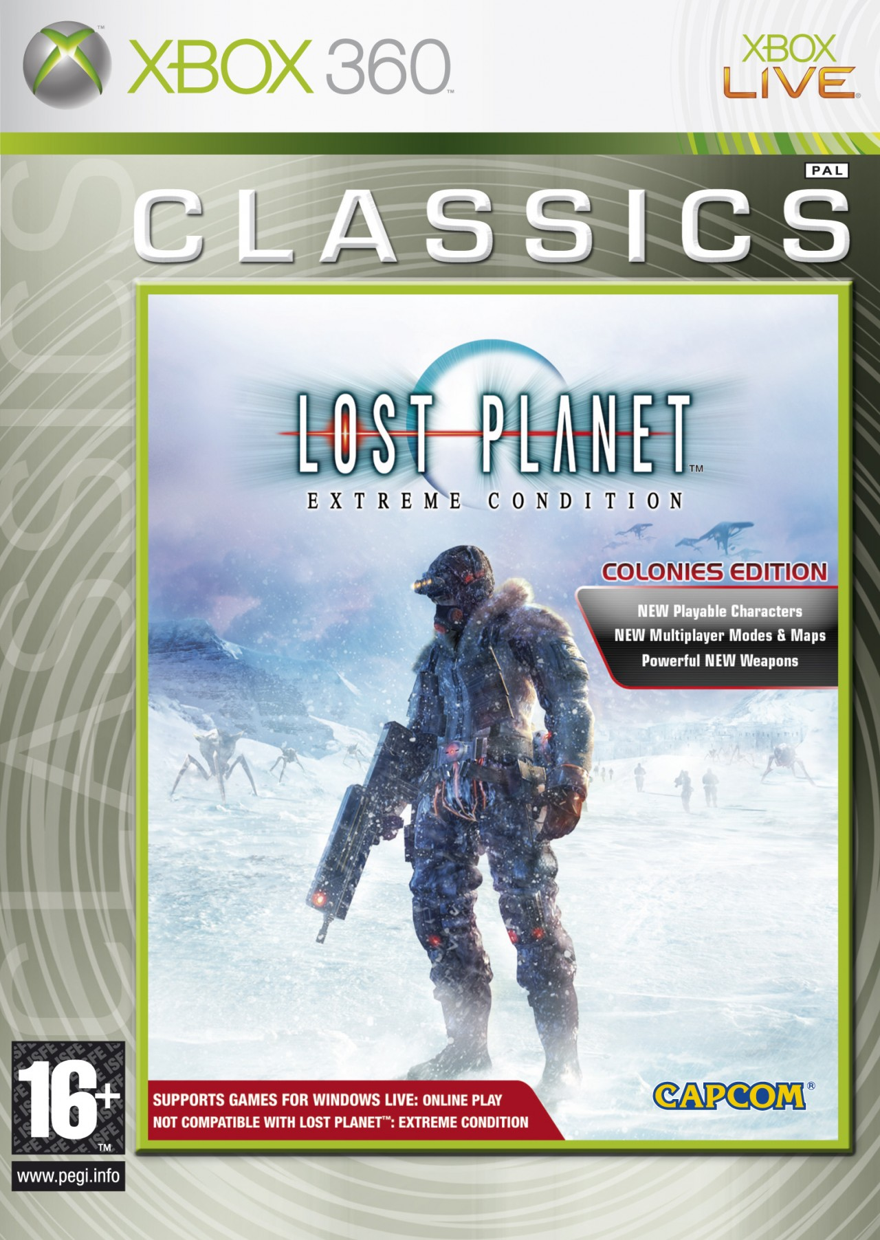 Boîte de Lost Planet : Extreme Condition - Colonies Edition