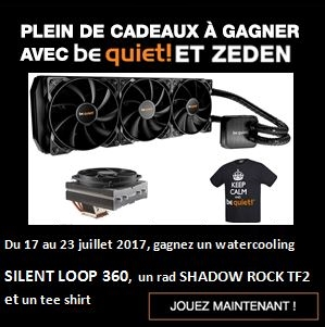 Coucours Be quiet Juillet 2017