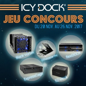 Concours Icy Dock novembre 2017